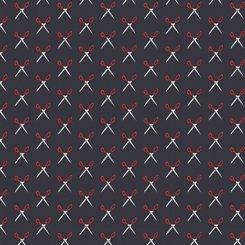 QT Fabrics Shop Hop Scissors 27556 J Black