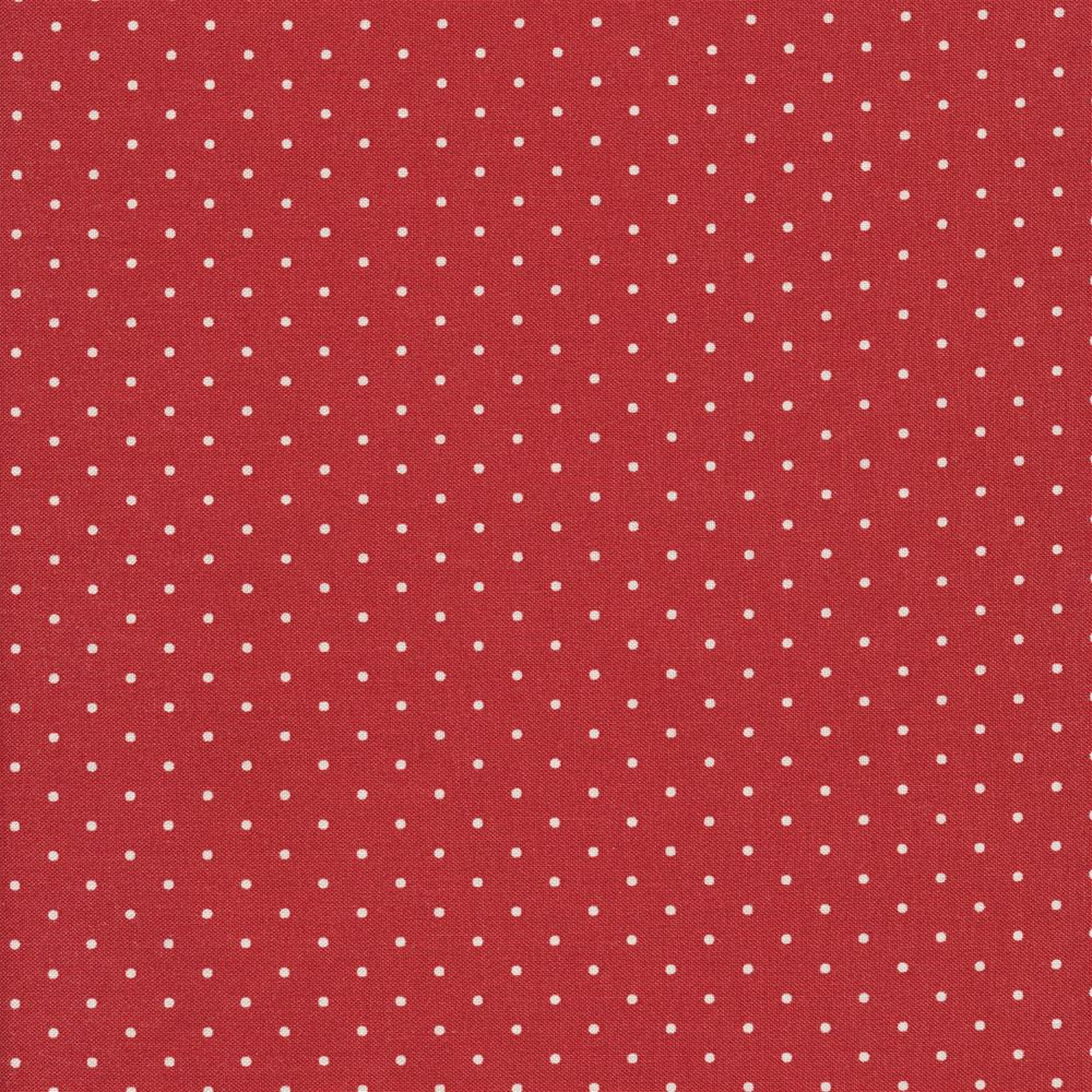 Marcus Fabrics Shirting R3120 Red