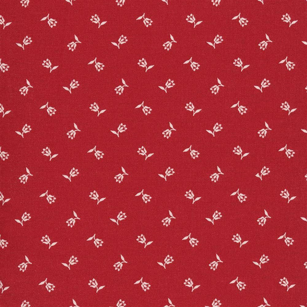 Marcus Fabrics Shirting R3123 Red