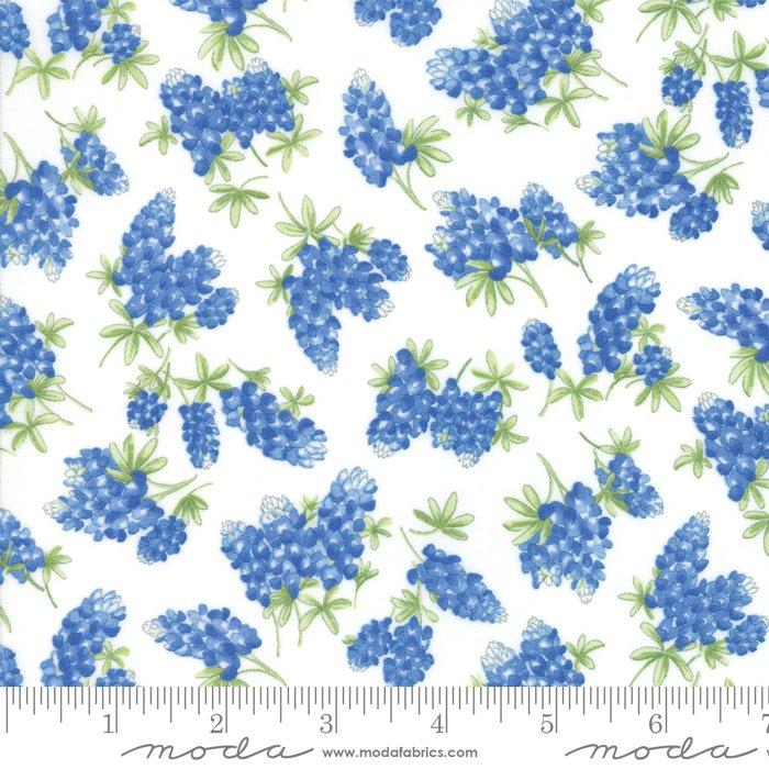 Fields of Blue 33453 11 Ivory
