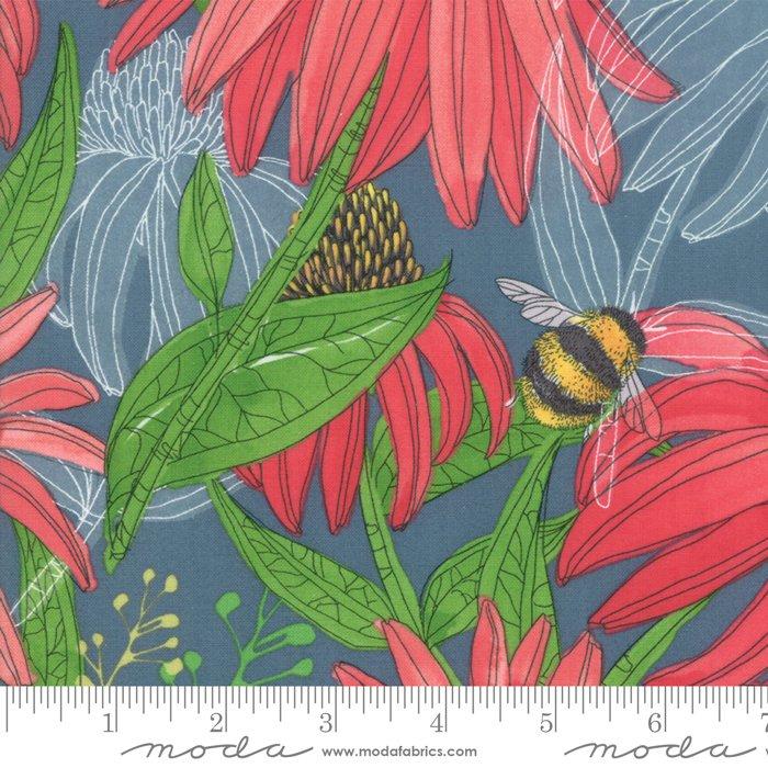 Painted Meadow 48660 12 Teal