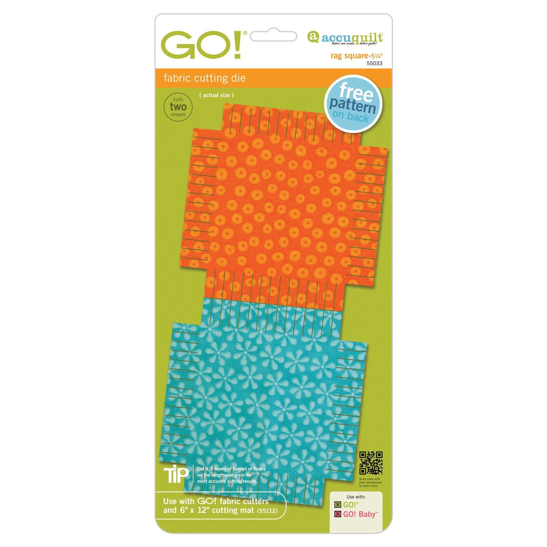 Accuquilt GO! Rag Square-5 1/4 55033