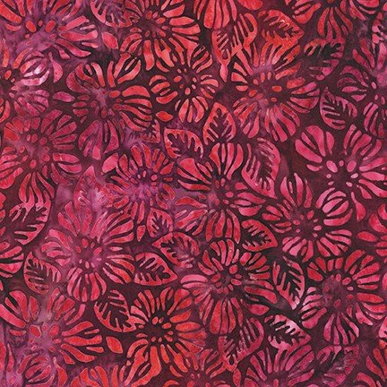 Robert Kaufman Garden Style Pomegranate AMD-20057-281
