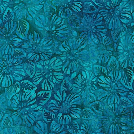 Robert Kaufman Garden Style Lagoon AMD-20057-71