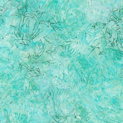 Robert Kaufman Garden Style Aqua AMD-20060-70