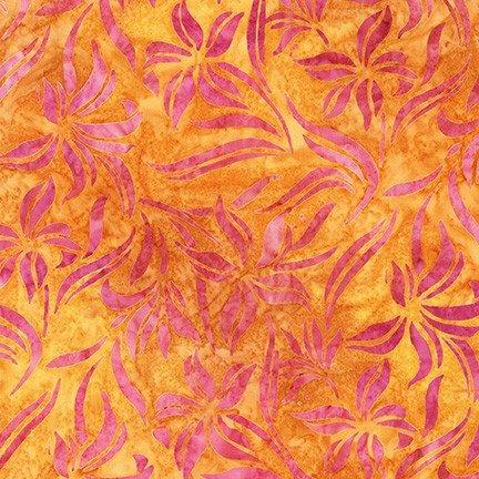 Hummingbird Lane by Lunn Studios for Robert Kaufman Fabrics AMD-20183-141 Saffron
