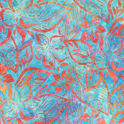 Hummingbird Lane by Lunn Studios for Robert Kaufman Fabrics AMD-20187-70 Aqua