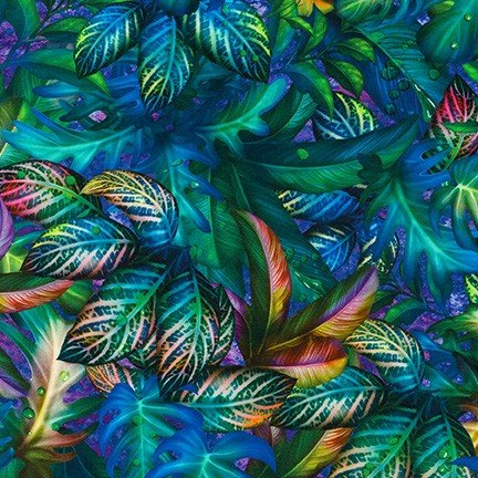 Fantastic Forest by Ciro Marchetti for Robert Kaufman Fabrics ATZD-20175-460 Midnight Purple