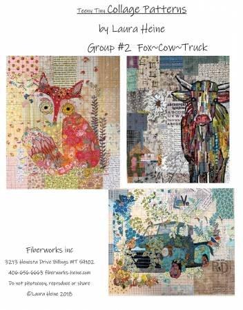 Laura Heine Group 2 Teeny Tiny Fox/Cow/Truck