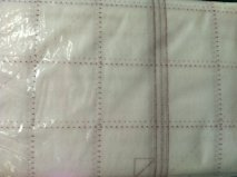 Mondo Bag printed interfacing panels
