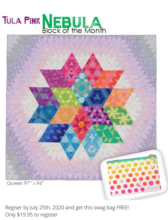 2021 Block of the Month: Nebula  (April)