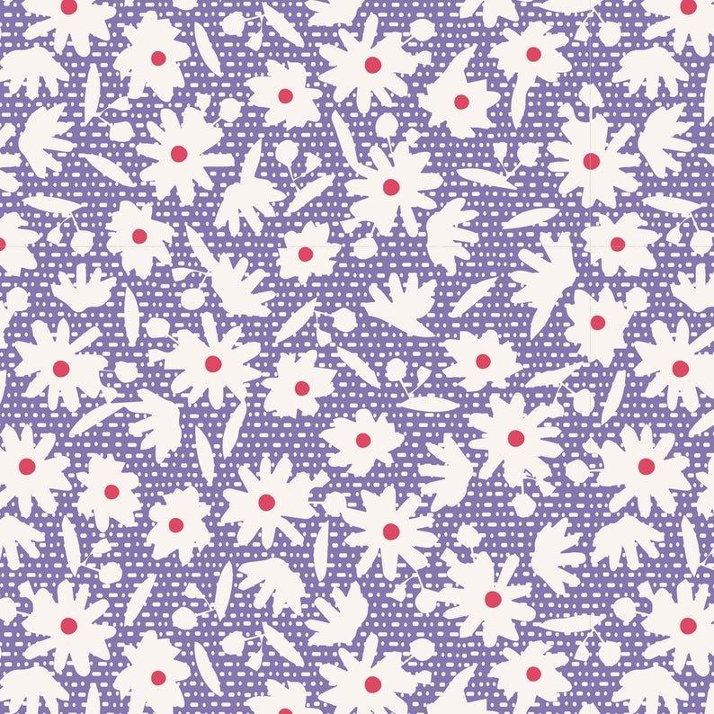 Tilda Bon Voyage Paperflower Blue 100247-V11