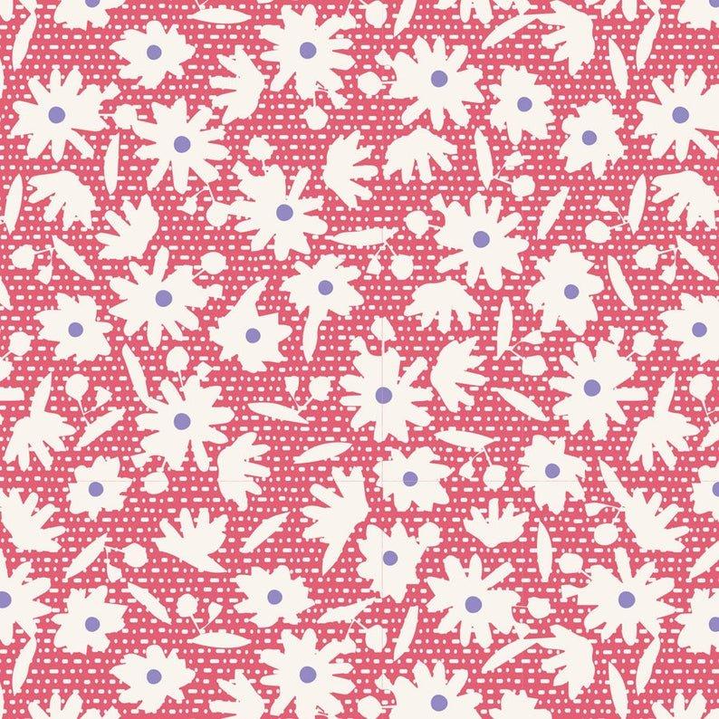 Tilda Bon Voyage Paperflower Red 100260-V11
