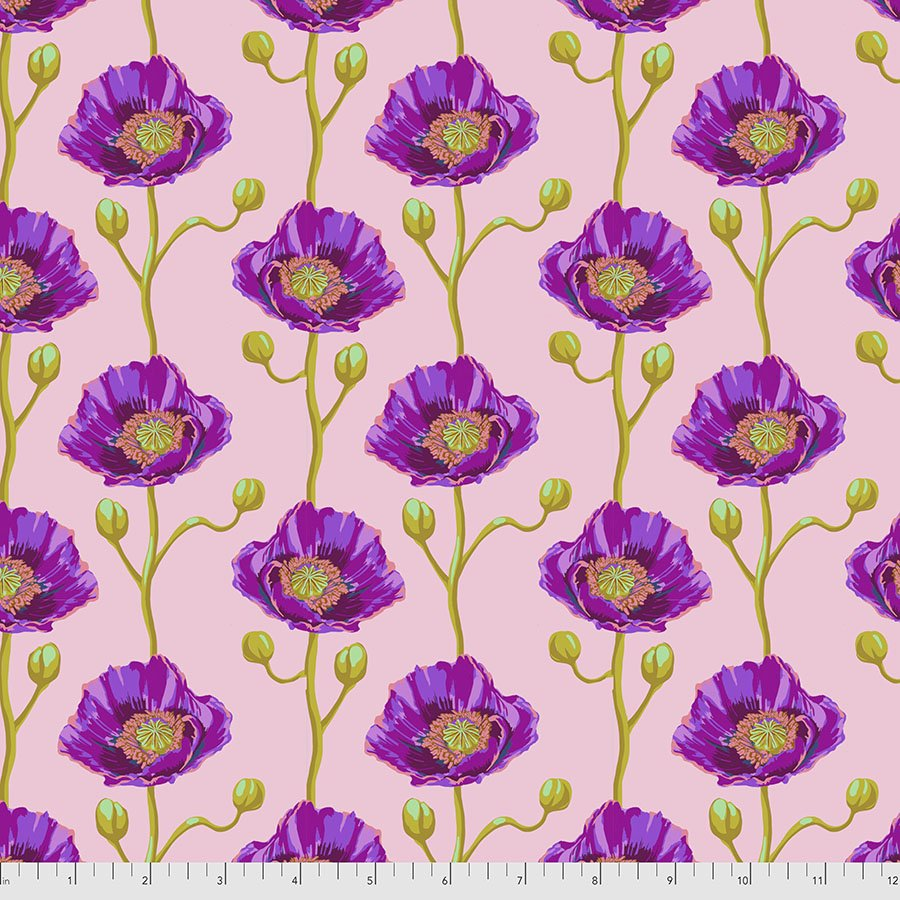 Bright Eyes by Anna Maria for FreeSpririt Fabrics Cheering Section-Blush PWAH154.Blush