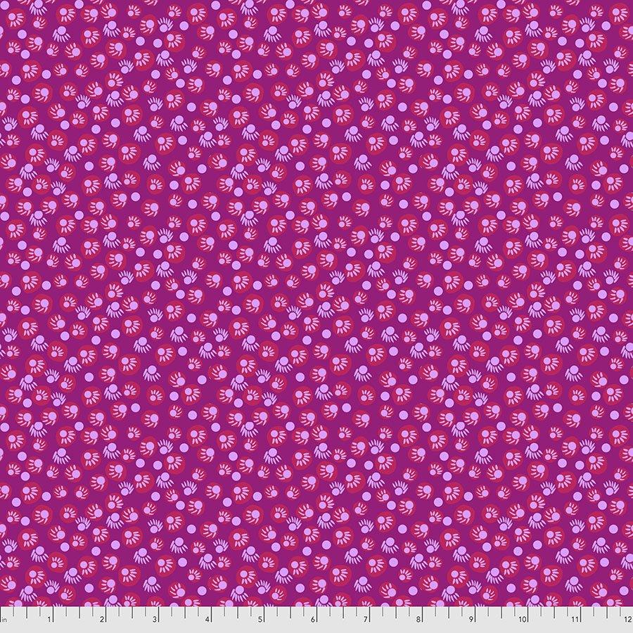 Bright Eyes by Anna Maria for FreeSpririt Fabrics Dot Your Eyes-Magenta PWAH156.Magenta