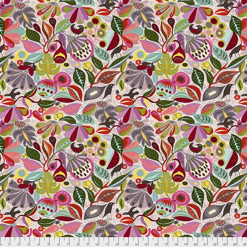 Free Spirit Vibrant Blooms 026 In the Woods Neutral