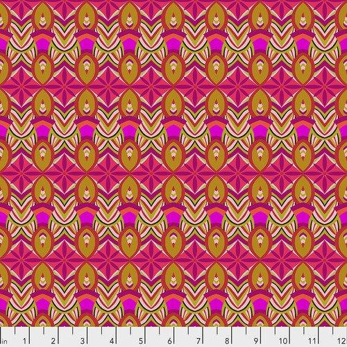 Free Spirit Vibrant Blooms 027 Flower Burst  pink
