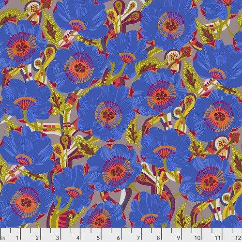 Free Spirit Vibrant Blooms 028  Sunshine Bloom Blue