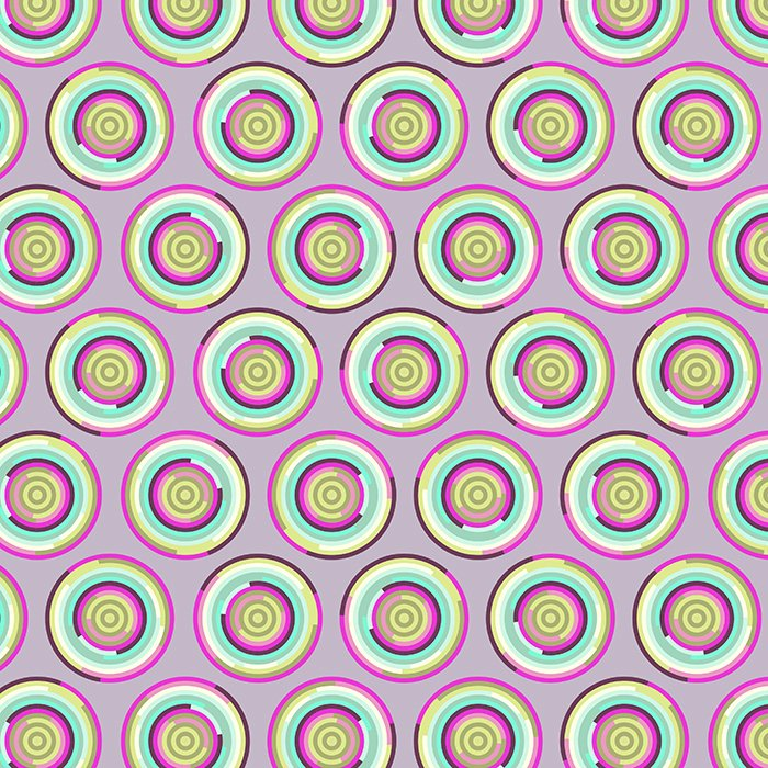 Tula Pink Chipper PWTP081  Hypnotizer Raspberry