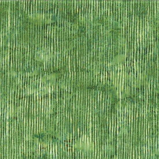 Hoffman Bali Batik Skinny Stripes Grass R2284-115