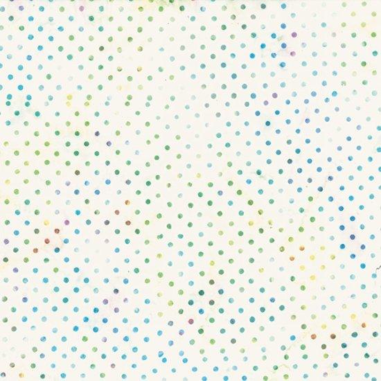 Hoffman Bali Batik Polka Dot Light Bright S2322-667