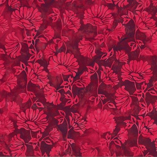 Hoffman Bali Batik Dahlia Red Velvet S2331-568