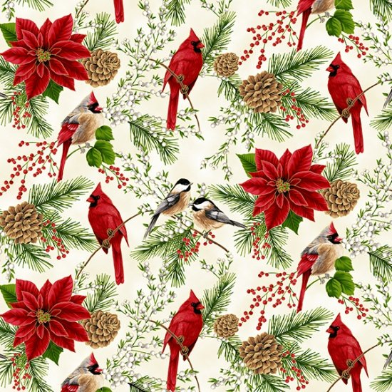 Hoffman Fabrics Holiday Decadence S7700-20G-Natural-Gold