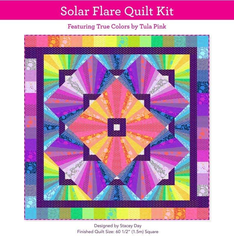 Free Spirit Solar Flare Quilt Kit