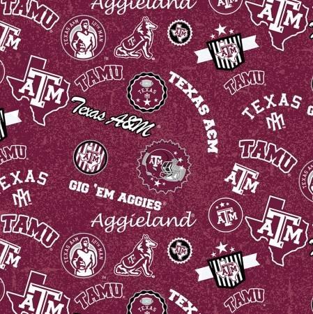 NCAA-Texas A&M Aggies Home State Cotton TAM-1208