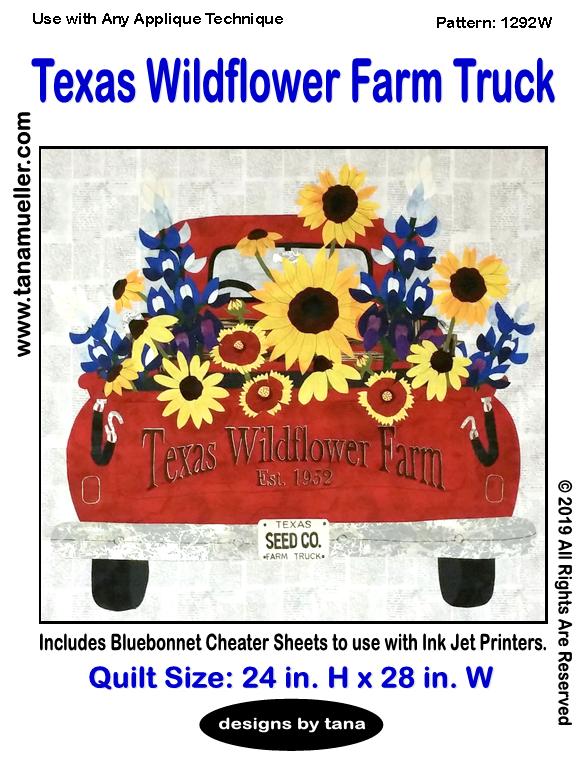 Texas Wildflower Farm Truck