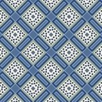 Marcus Red & Blue 8399 0510 Tiles Blue