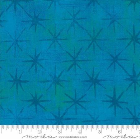 Grunge Stars Turquoise 30148 39
