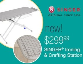 Singer Ironong and Crafting Station