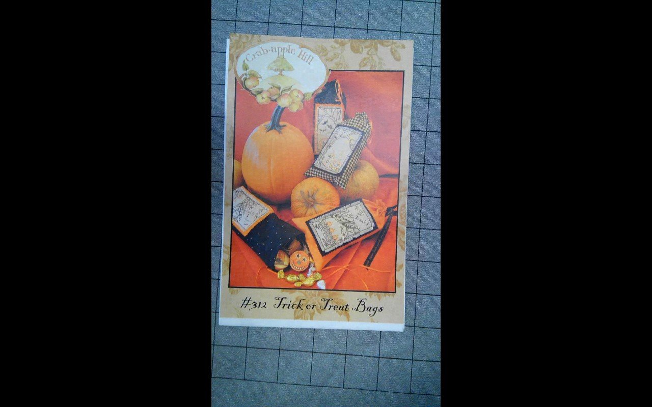 Trick or Treat Bags pattern crabapple hill