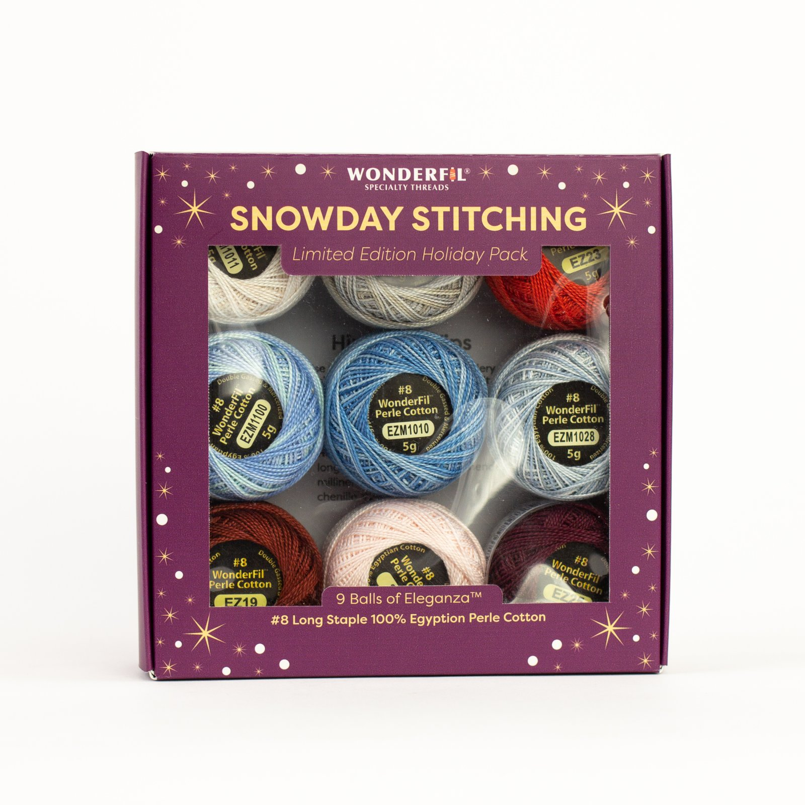 WF Snowday Stitching Ice Crystals