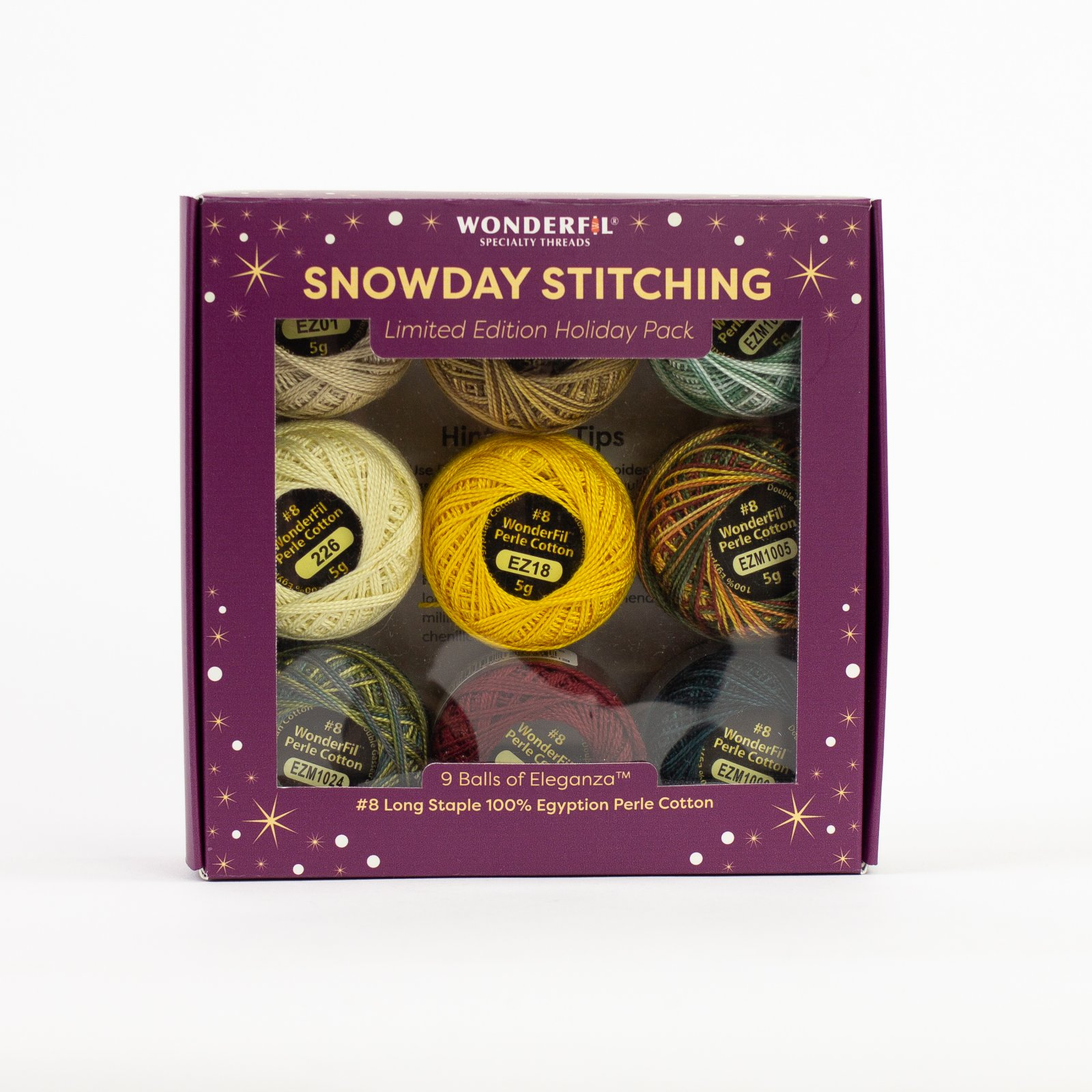 WF SnowDay Stitching Woodland Winter