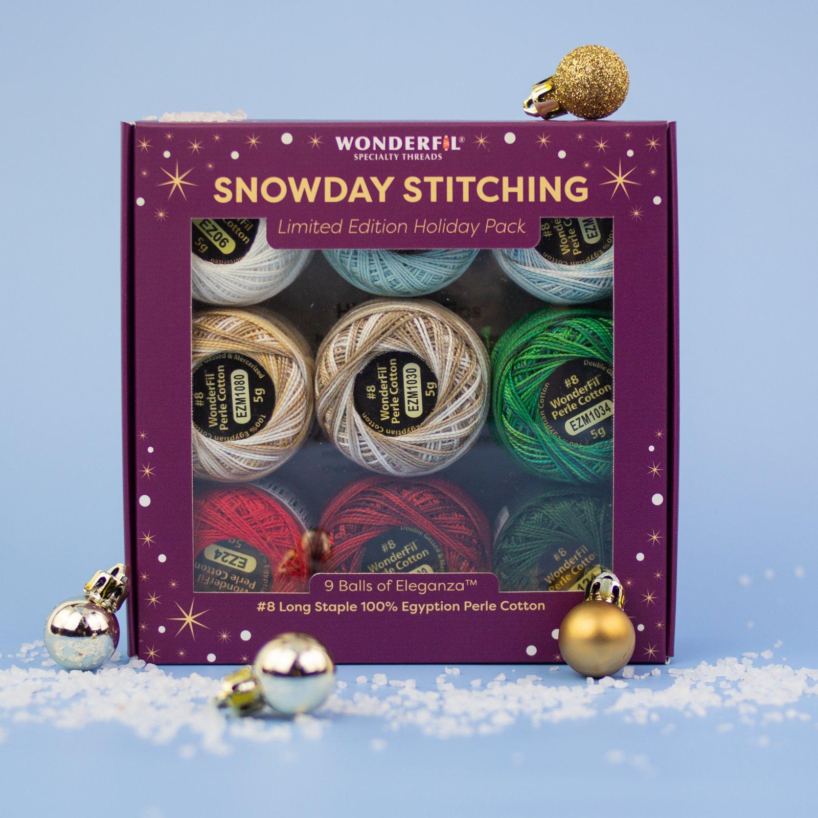 WF Snowday Stitching Yuletidw
