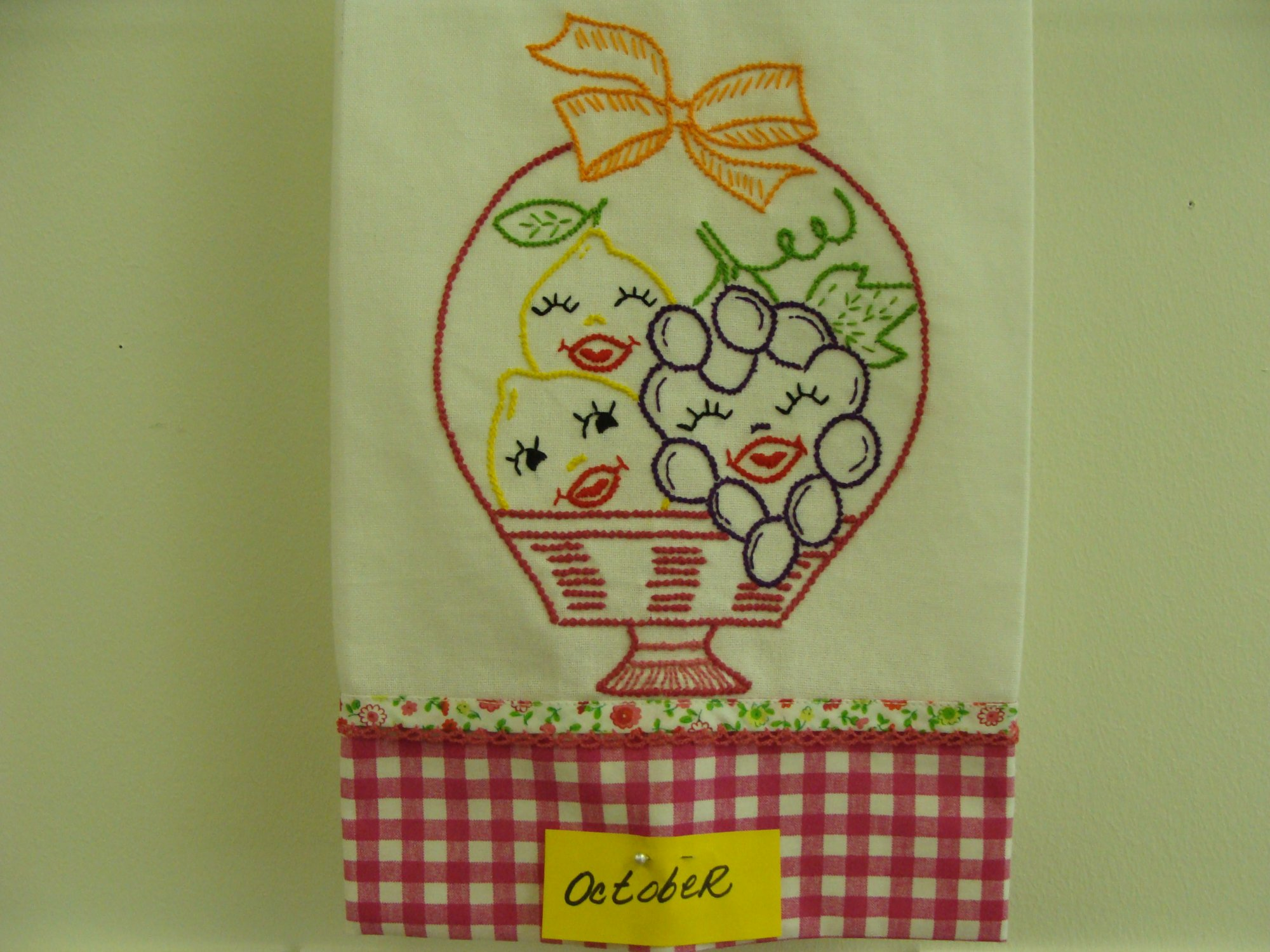 Basket of Grapes & Lemons!!