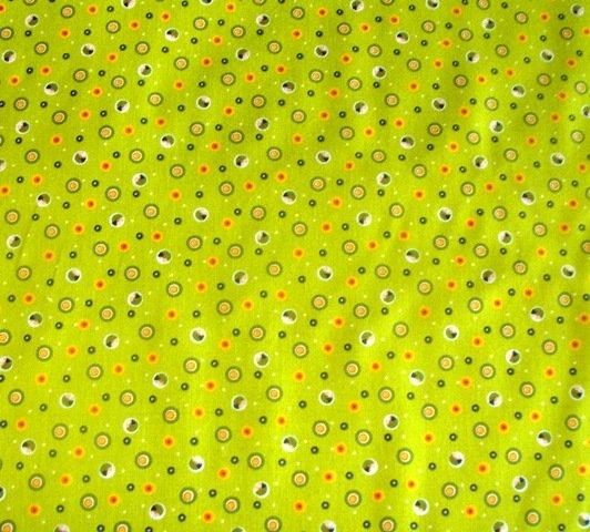 Safari Drive Dots Green 3032 46