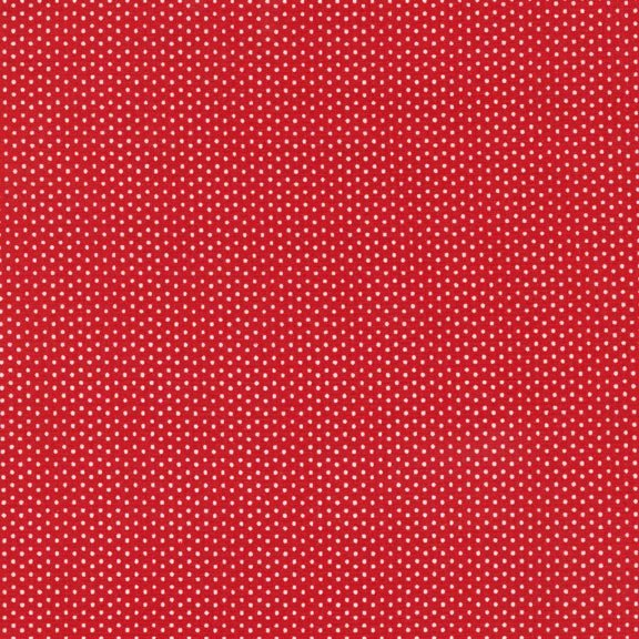 4928-003 Pin Dots on Red