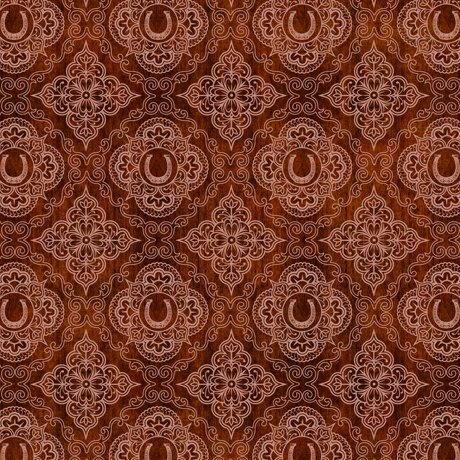 24696 -T Horseshoe Medallions Rust