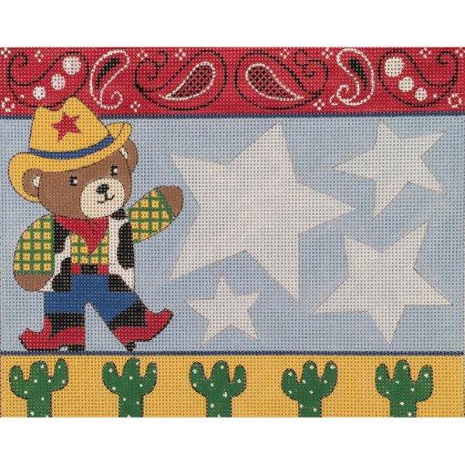 Cowboy Teddie ~ Alice Peterson Co.
