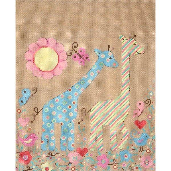 Patterned Giraffees