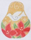 Christmas Pears Club ~ Poinsettia and Dove ~ CH Designs