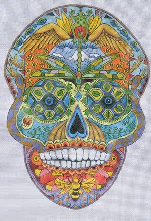 Earth Art ~ Sugar Skull ~ Danji Designs
