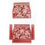 Evening Purse ~ Red Damask ~ Whimsy & Grace