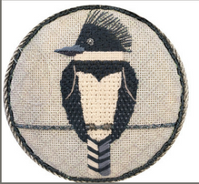 Scott Partridge Silly Little Birds Club ~ Kingfisher ~ Vallerie Needlepoint Gallery
