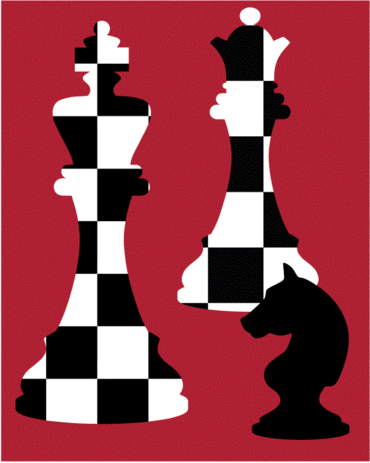 Chess Lovers ~ Moore Stitching