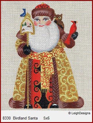 Birdland Santa ~ Russian Santa