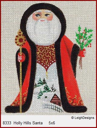 Leigh Holly Hills Santa